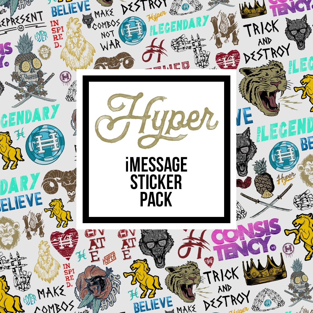 Hyper IOS Sticker App